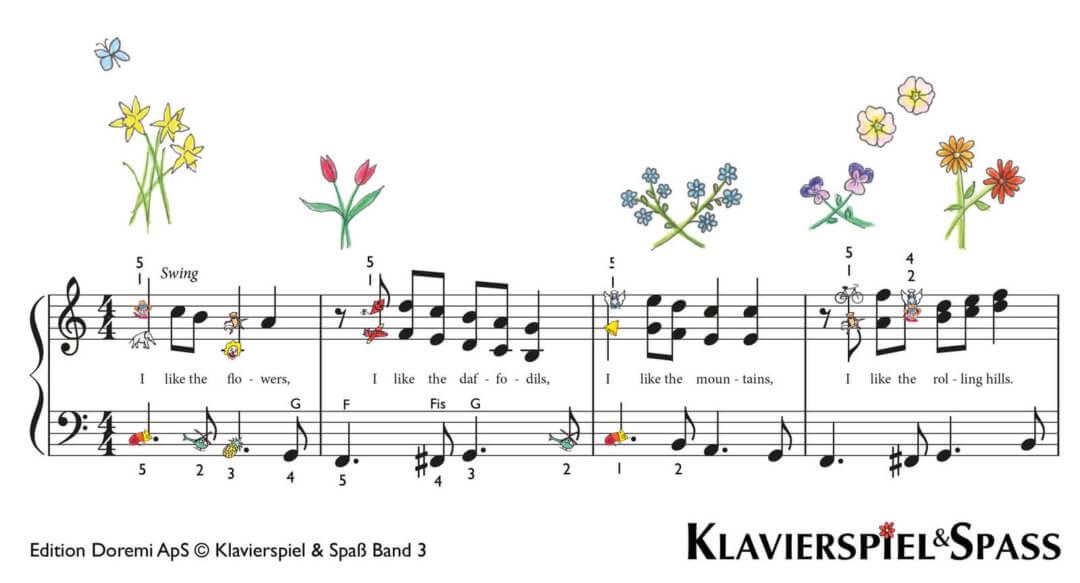 I like the Flowers, I like the Daffodils (Ich lieb den Frühling)
