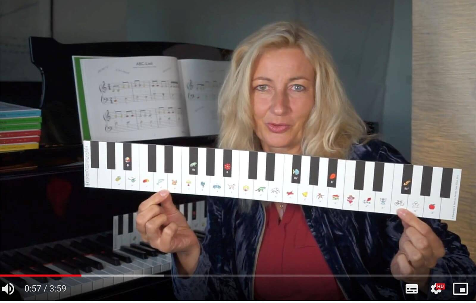 Neu! Einführungsvideo für Klavierspiel & Spaß Band 2