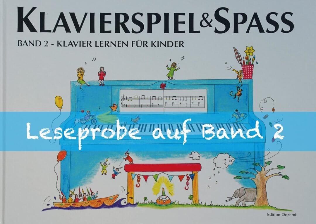 Leseprobe - Band 2 - Klavier Lernen für Kinder